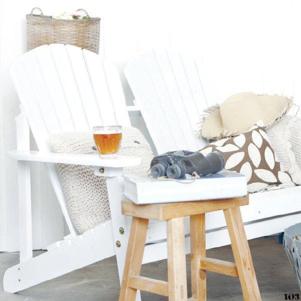 Кресло для двоих (белое)