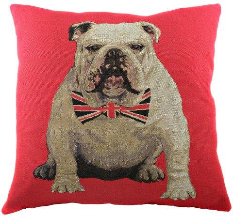 Подушка с британским флагом Bulldog