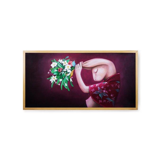 Картина на холсте Naivete 62х124