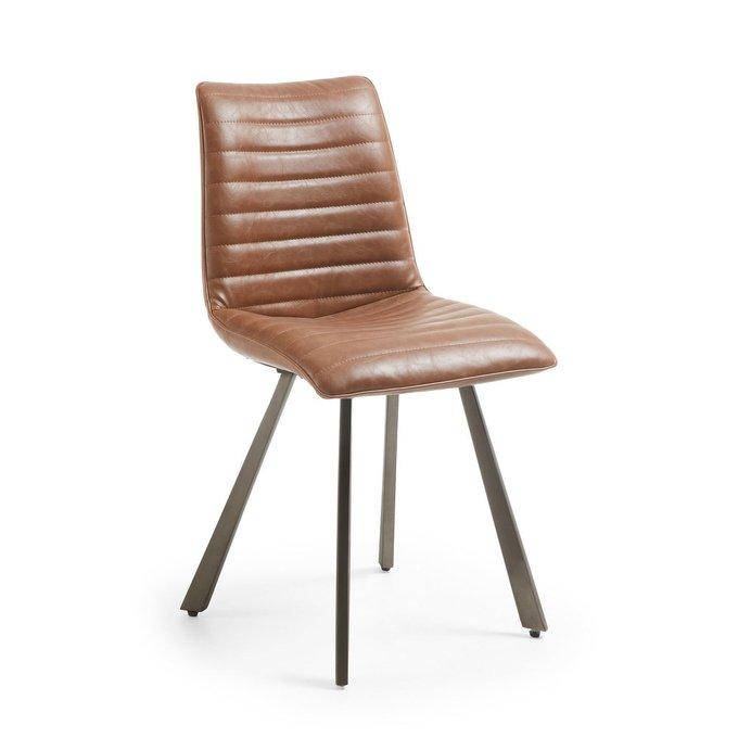 Обеденный стул Julia Grup TRACС коричневого цвета
