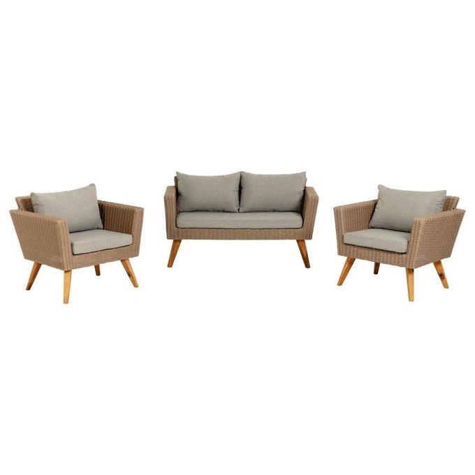 Комплект Sumie из дивана и двух кресел