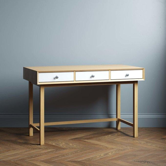 Письменный стол Lira large 140х60 с тремя ящиками