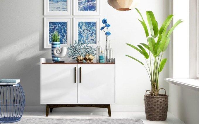 Шкаф-буфет Brookdale белого цвета