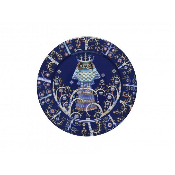 Тарелка Taika темно-синего цвета