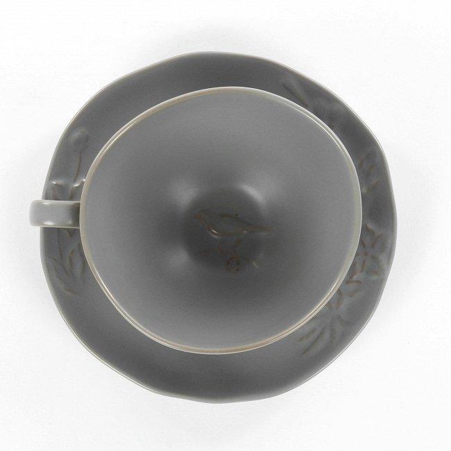 Чашка с блюдцем Emperor's Bird