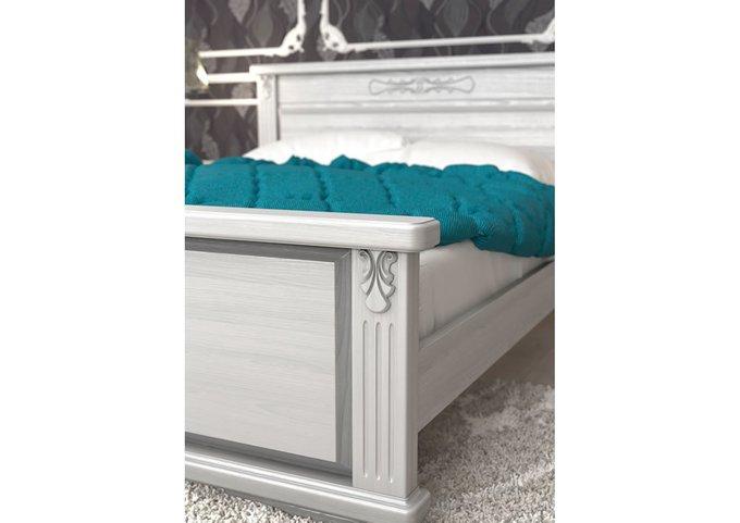 Кровать Палермо ясень-груша 160х200