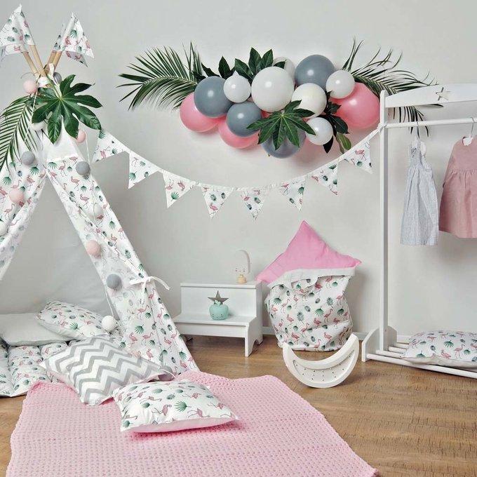 Декоративная подушка Flamingo из хлопка