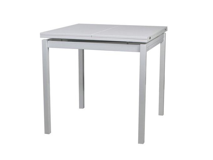 Раскладной обеденный стол Twin с глянцевой эмалированной столешницей