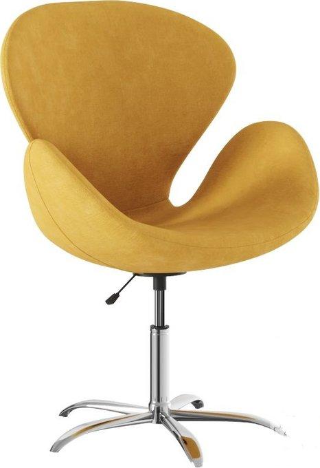 Кресло Эмилия elixir желтого цвета