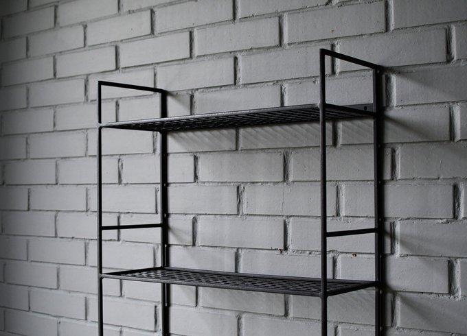 Полка Bookshelf черного цвета