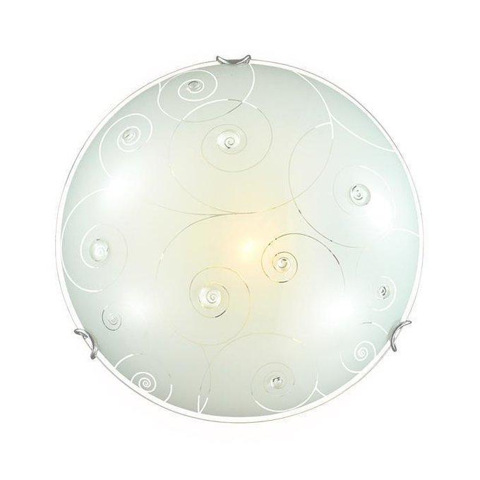 Потолочный светильник Kapri с плафоном из стекла