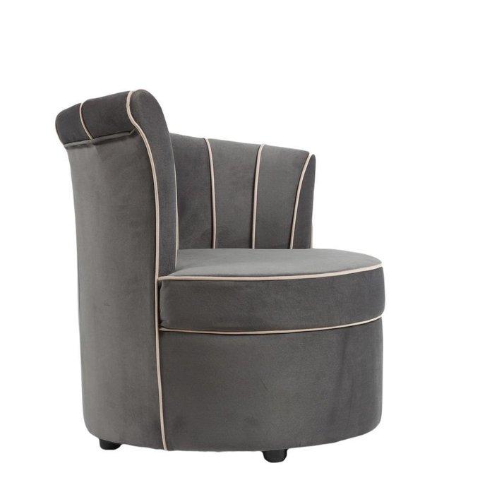 Кресло Shell серого цвета