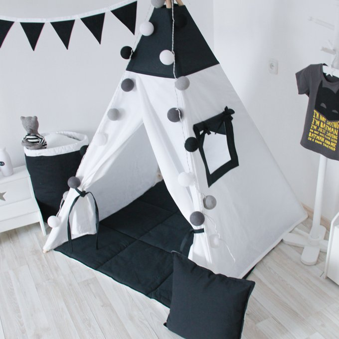 Подушка Black&White из 100% хлопка