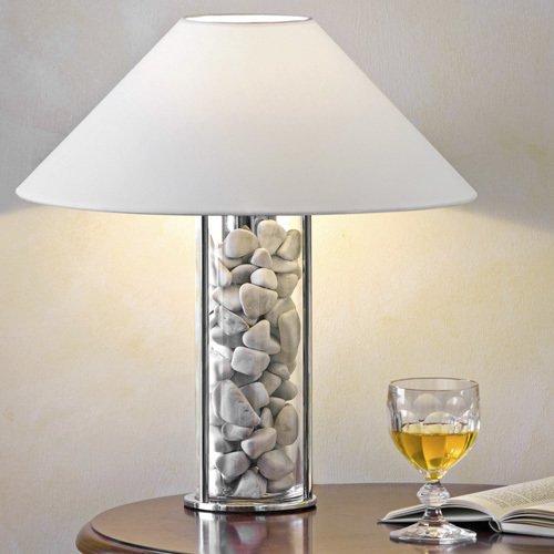 Настольная лампа Boston белого цвета