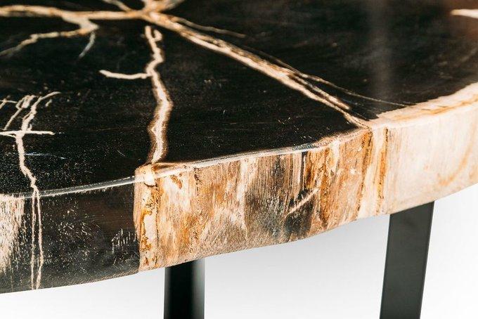 Журнальный стол Бинтау из окаменелого дерева 381071