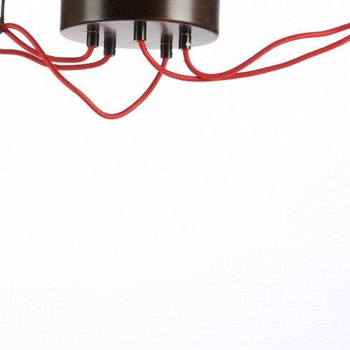 Подвесной светильник Shadows с плафоном из стекла