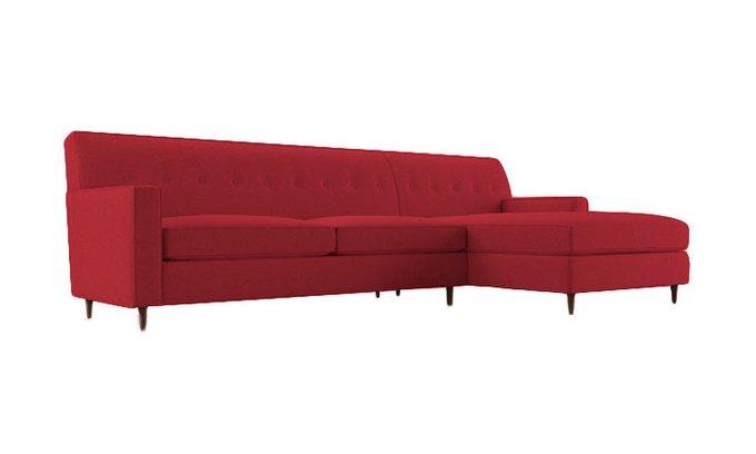 Диван Morkiss Sectional красного цвета
