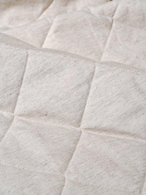 Стеганное покрывало Vespa linen 230х250 бежевого цвета