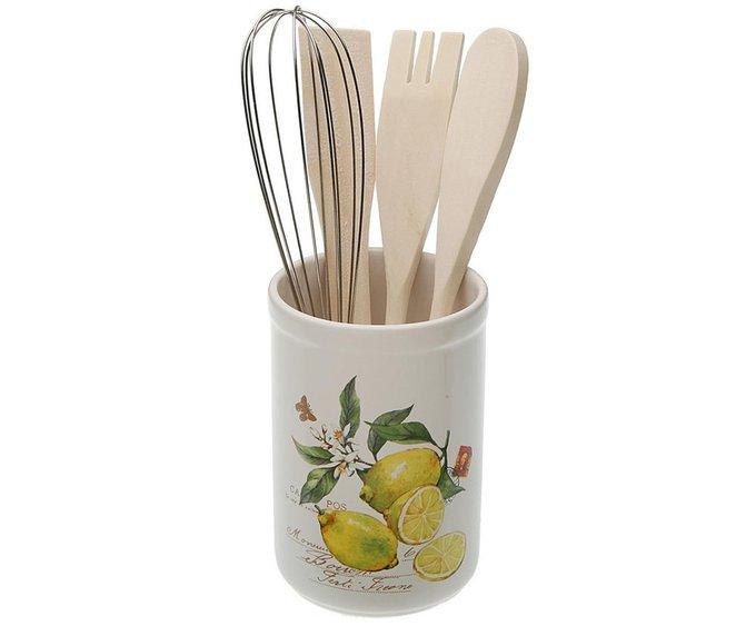 Стойка Lemons для столовых приборов из керамики