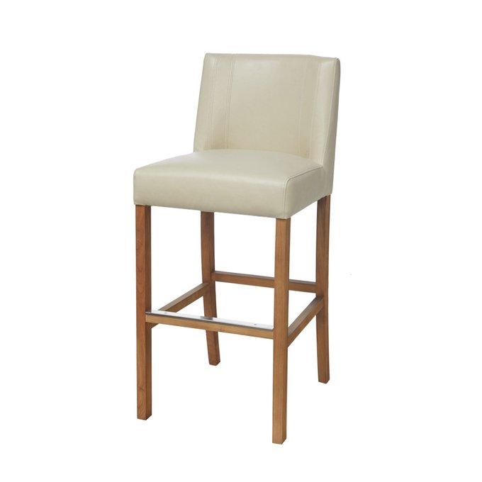 Барный стул Cadi белого цвета
