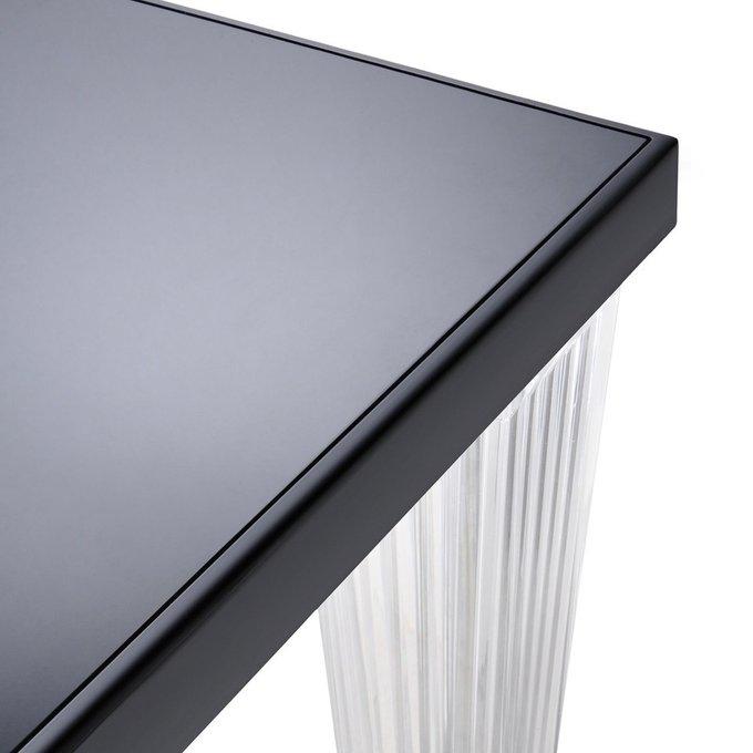 Стол обеденный TopTop с черной столешницей