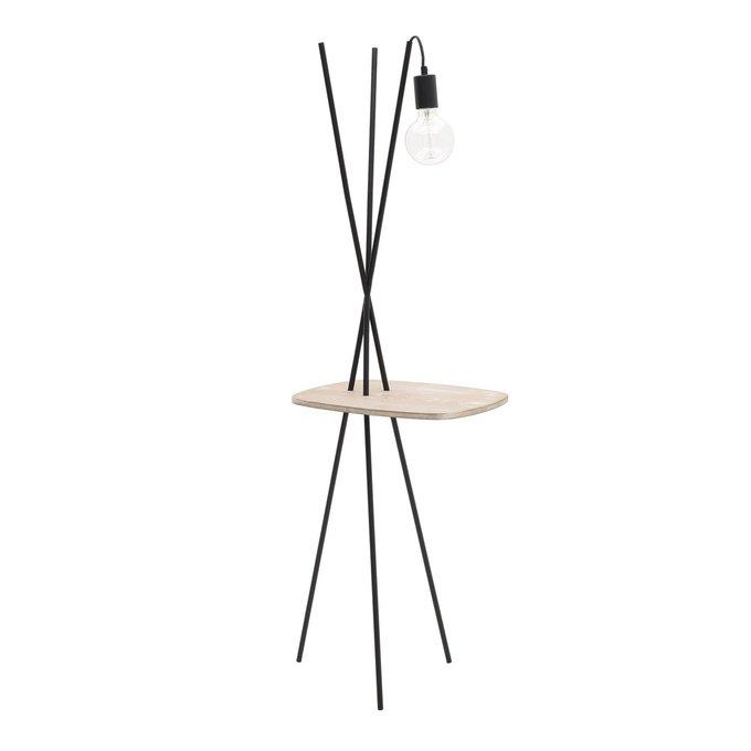 Лампа напольная со столиком