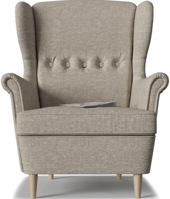 Кресло Торн Beige серо-бежевого цвета