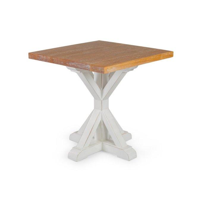 Кофейный стол Crossy из массива дерева