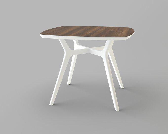 Обеденный стол Unika Lars 90х90 орех