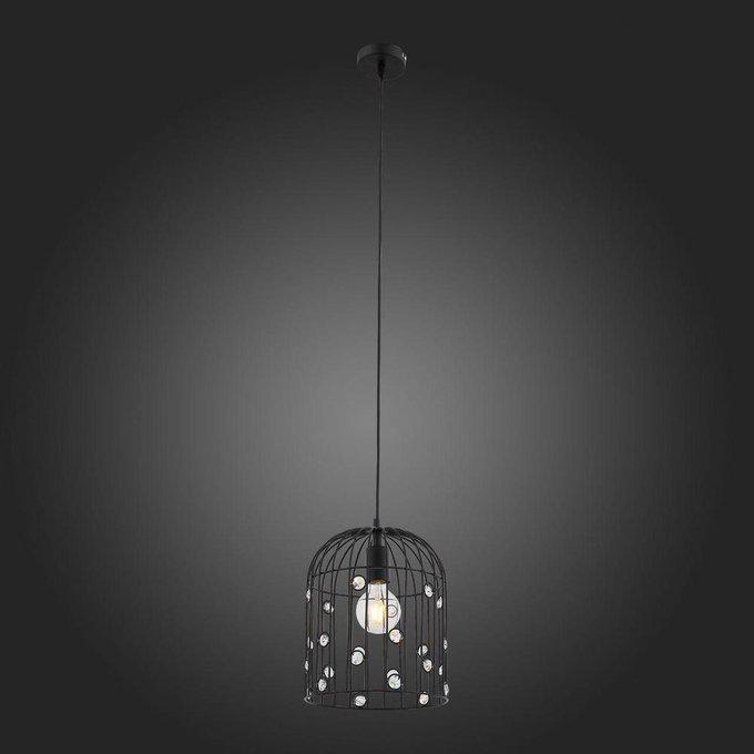 Подвесной светильник Gabia черного цвета
