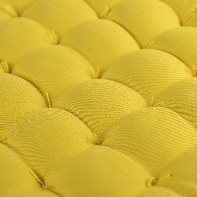Подушка на стул Wild горчичного цвета