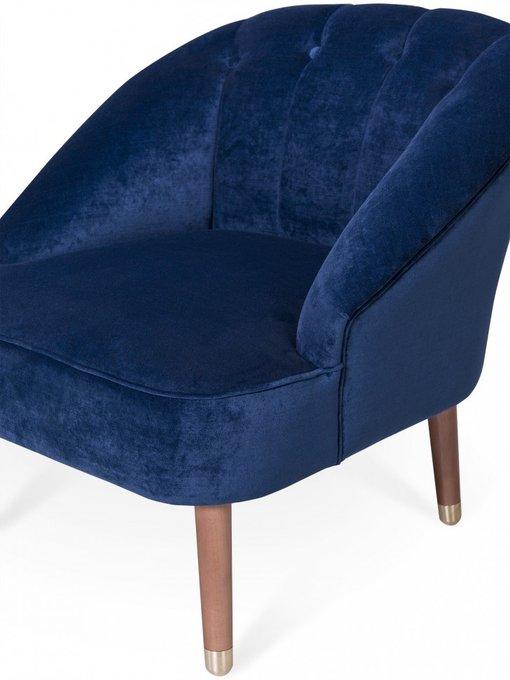 Кресло Clouds синего цвета