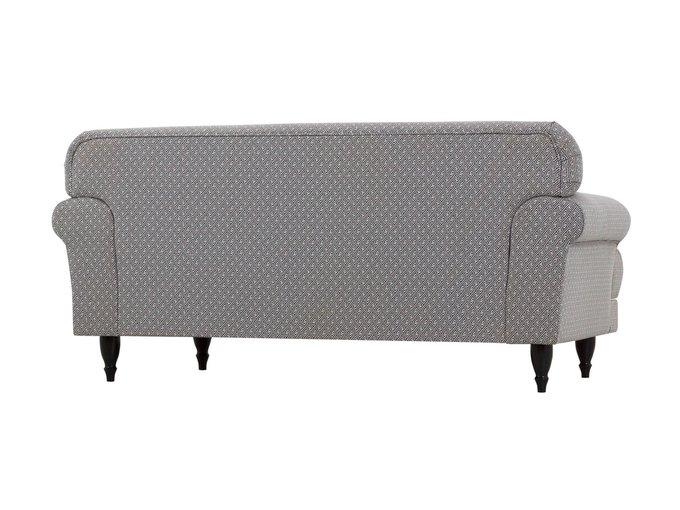 Двухместный диван Italia на деревянных ножках