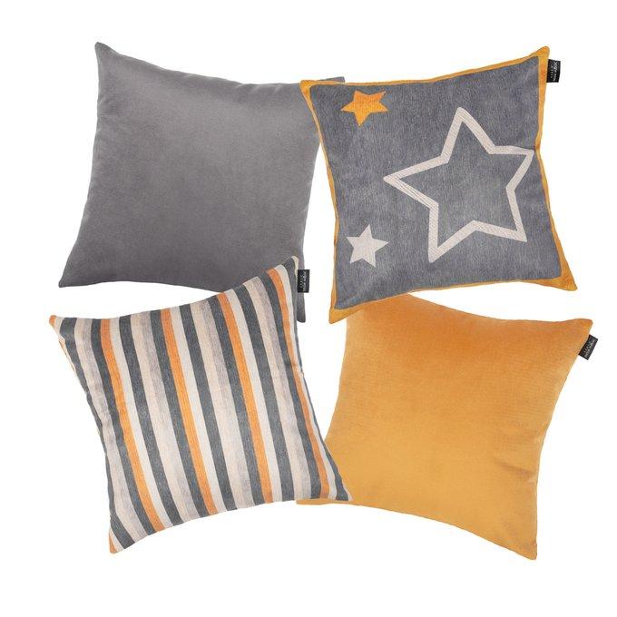 Набор из четырех чехлов для подушек Time Star