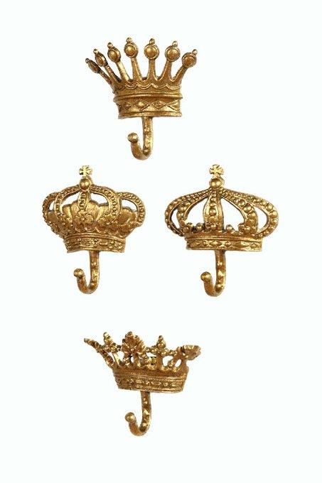 Настенный крючок Queen Gold I