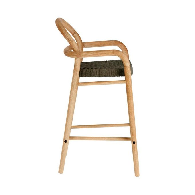 Барный стул Sheryl Green S из дерева бежевого цвета