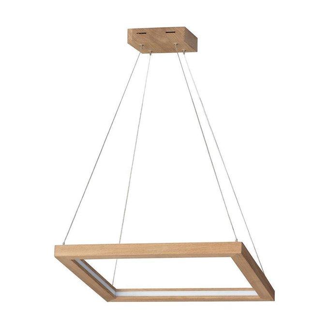 Подвесной светодиодный светильник Legno квадратной формы