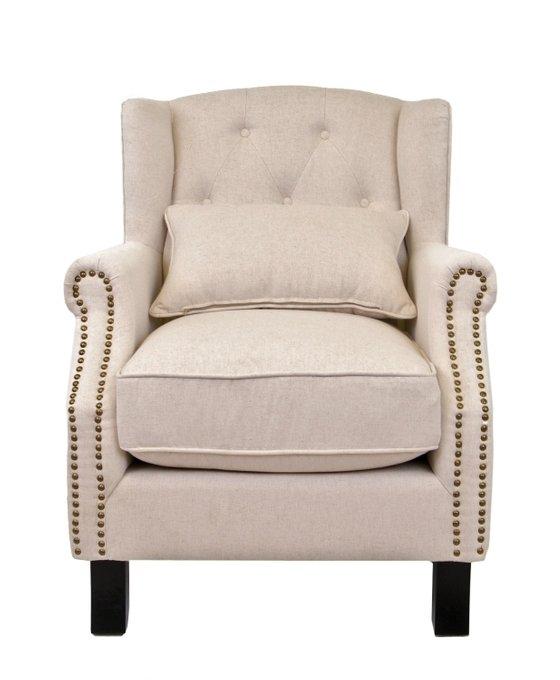 Кресло Scott бежевого цвета
