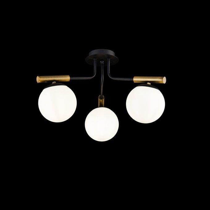 Потолочная люстра Paolina с плафонами белого цвета