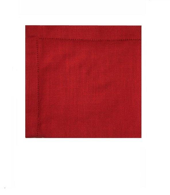 Набор из шести салфеток Paint красного цвета