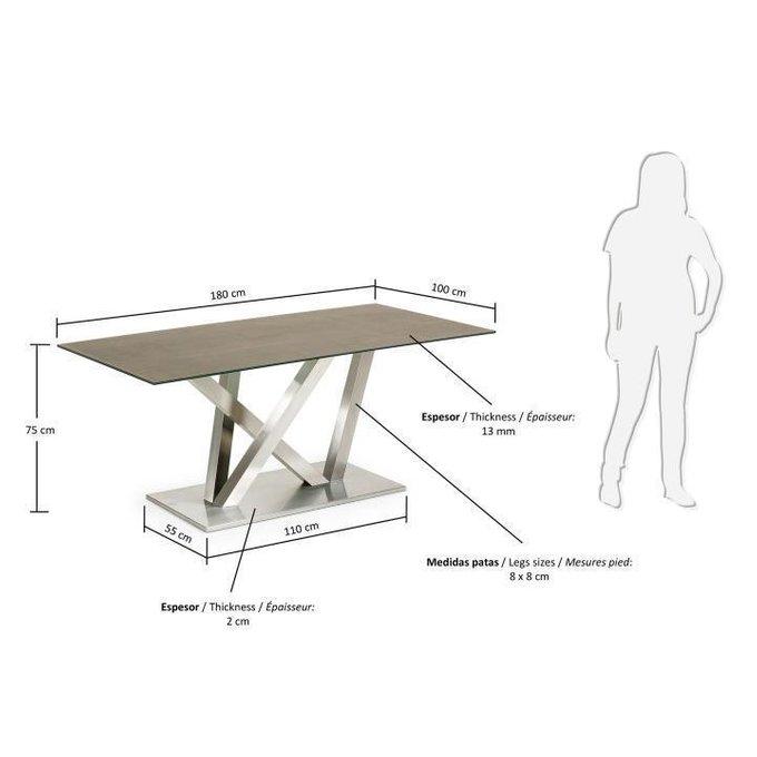 Обеденный прямоугольный стол Julia Grup Uve