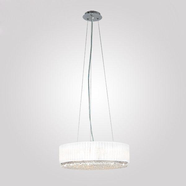 Подвесной светильник Кристалл белого цвета