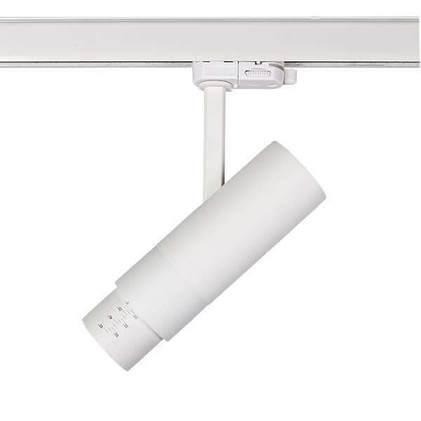 Трековый светодиодный светильник Fuoco Led белого цвета