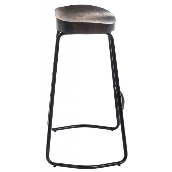 Барный стул Bonn с деревянным сидением