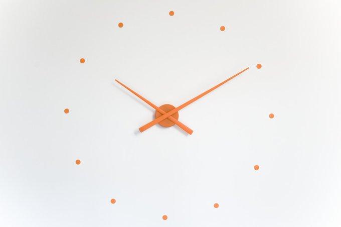 Настенные часы OJ Orange оранжевого цвета