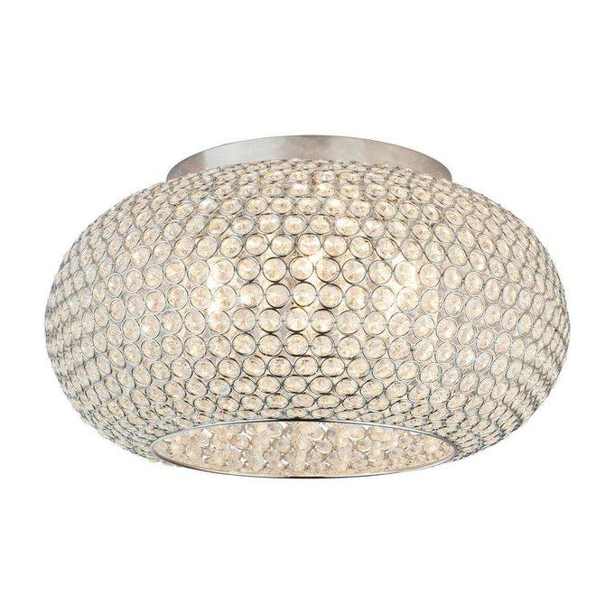 Потолочный светильник Emilia из хрусталя