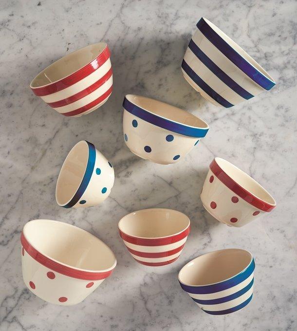 Миска универсальная Spots из керамики
