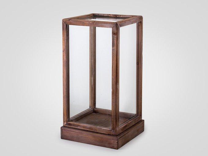 Прозрачный короб из стекла
