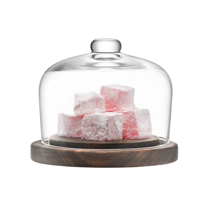 Блюдо со стеклянным куполом LSA city