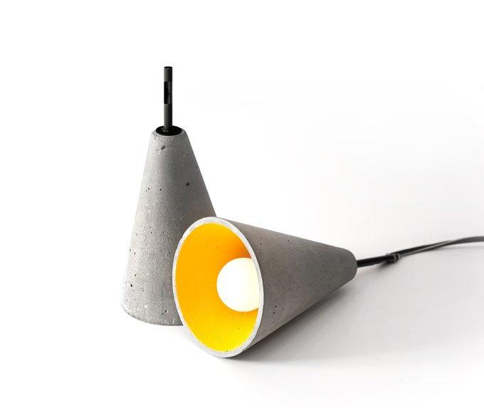 Подвесной светильник Rotr из бетона